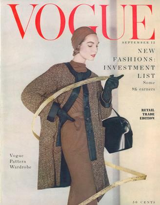 Cover for the September 15 1953 issue