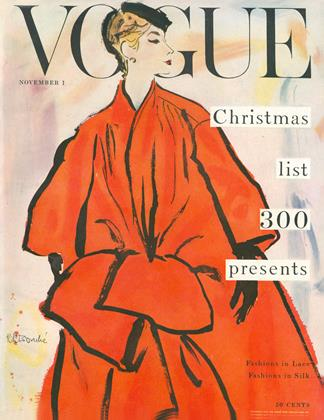 Cover for the November 1 1953 issue