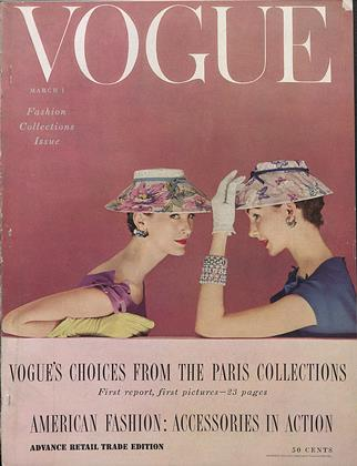 Cover for the March 1 1954 issue