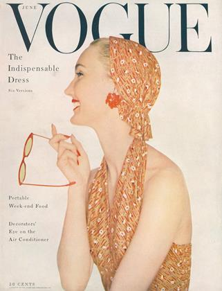 Cover for the June 1954 issue