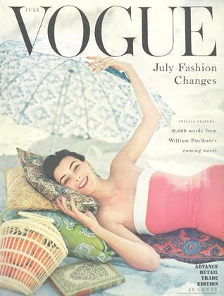 JULY 1954 | Vogue