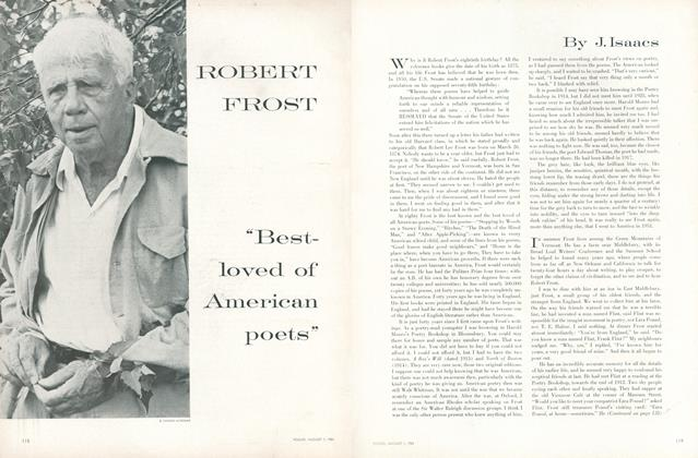 "Robert Frost: ""Best-Loved of American Poets"""