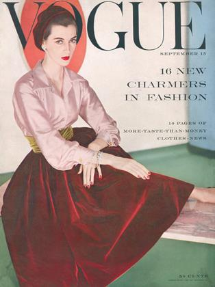 Cover for the September 15 1954 issue