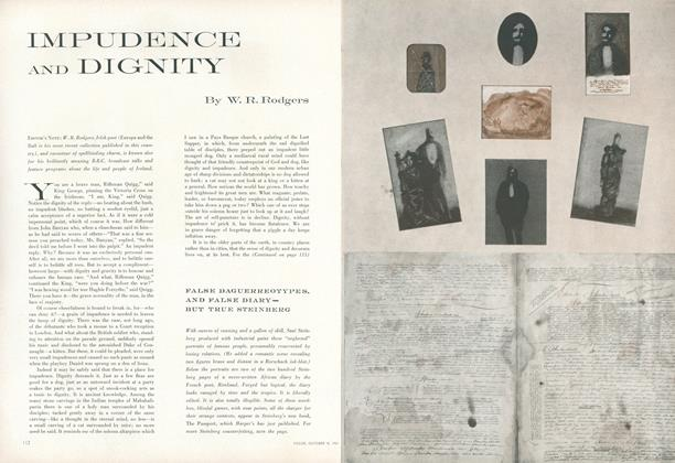 Impudence and Dignity