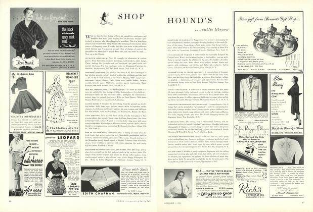 Shop Hound's...Public Library