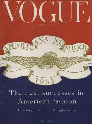 Cover for the February 1 1955 issue