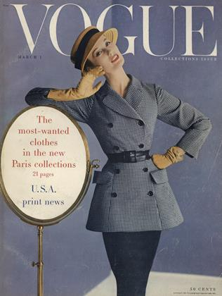 Cover for the March 1 1955 issue