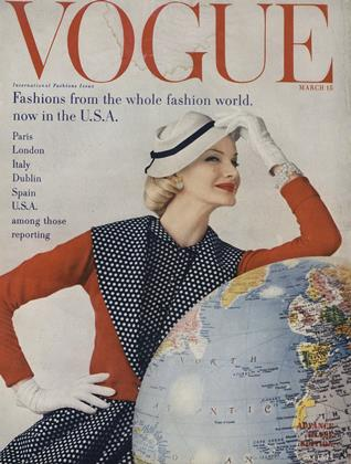 Cover for the March 15 1955 issue