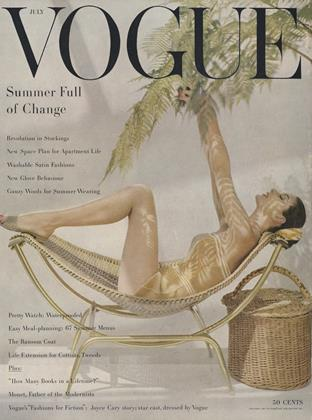 Cover for the July 1955 issue