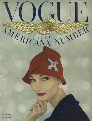 Cover for the February 1 1956 issue