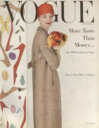 Cover for the February 15 1956 issue