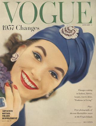 Cover for the January 1 1957 issue