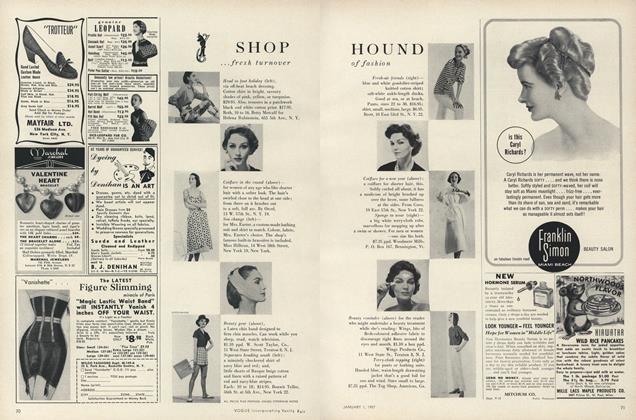 Shop Hound...Fresh Turnover of Fashion