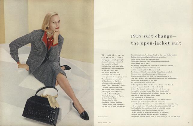 1957 Suit Change - The Open-Jacket Suit