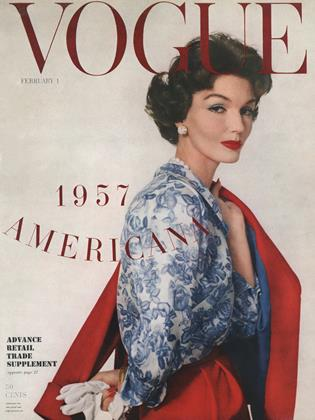Cover for the February 1 1957 issue