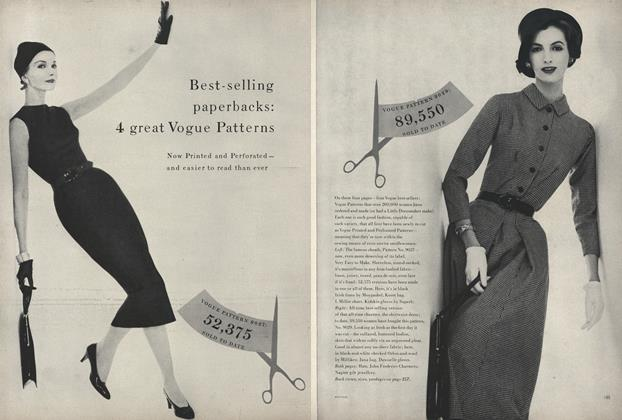 Best-Selling Paperbacks: 4 Great Vogue Patterns