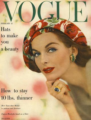 Cover for the February 15 1957 issue