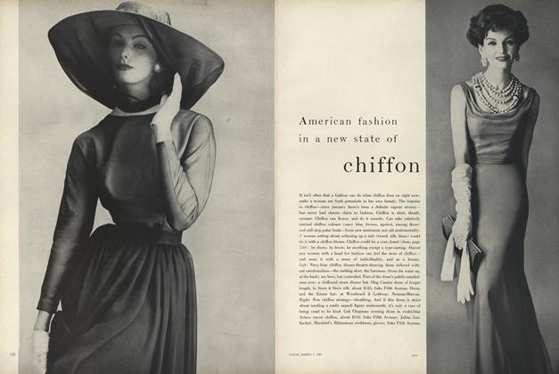 American Fashion In a New State of Chiffon