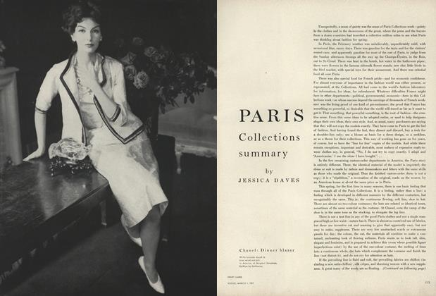 Paris Collections Summary