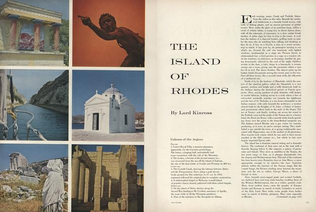 Article Preview: The Island of Rhodes, March 15 1957 | Vogue