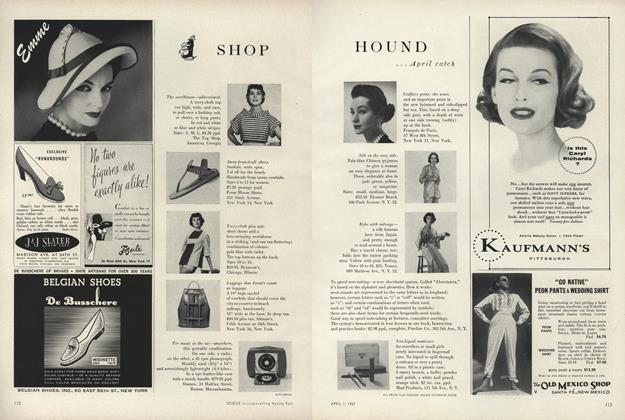 Shop Hound...April Catch