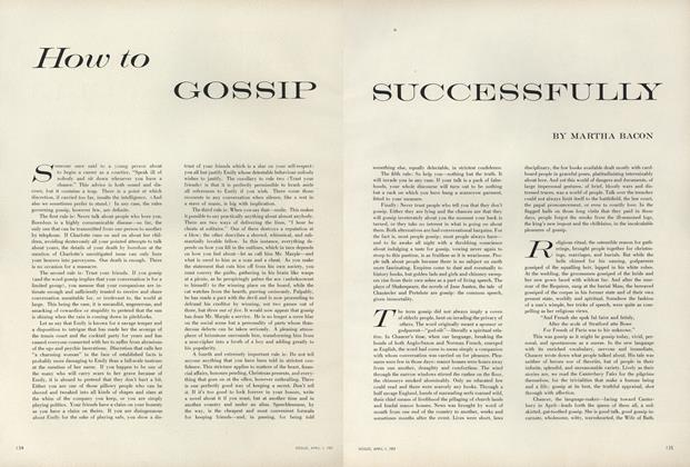 How to Gossip Successfully