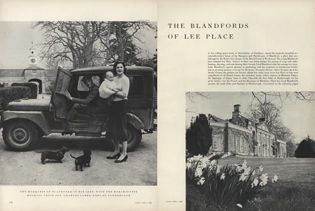 The Blandfords of Lee Place