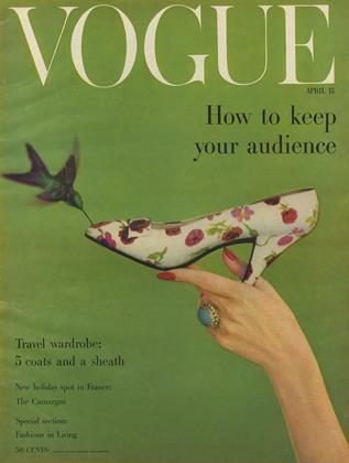 Cover for the April 15 1957 issue