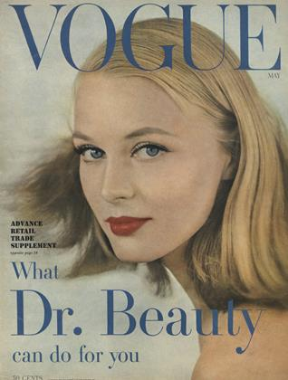 Cover for the May 1957 issue