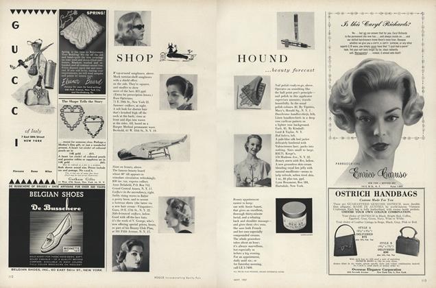 Shop Hound... Beauty Forecast; Summer Forecast; Men's Corner