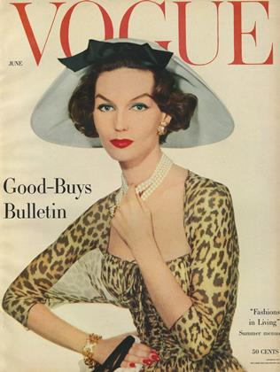 Cover for the June 1957 issue