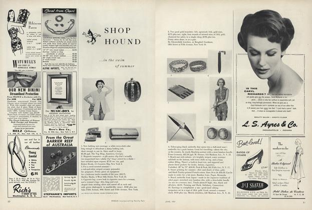 Shop Hound...In the Swim of Summer