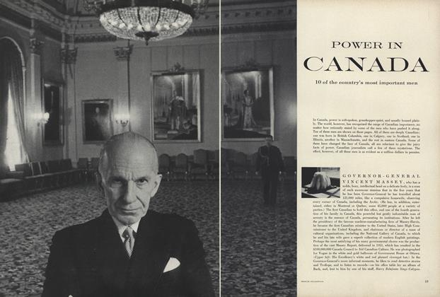 Article Preview: Power In Canada: 10 of the Country's Most Important Men, July 1957 | Vogue