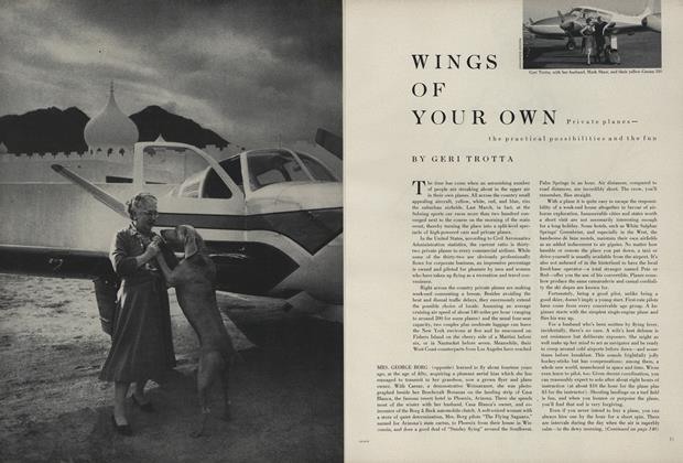 Wings of Your Own