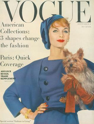 Cover for the September 1 1957 issue