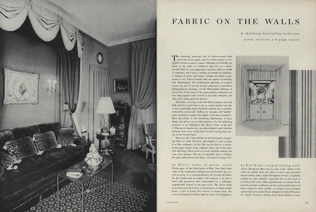 Fabric on the Walls