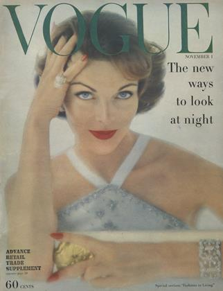 Cover for the November 1 1957 issue