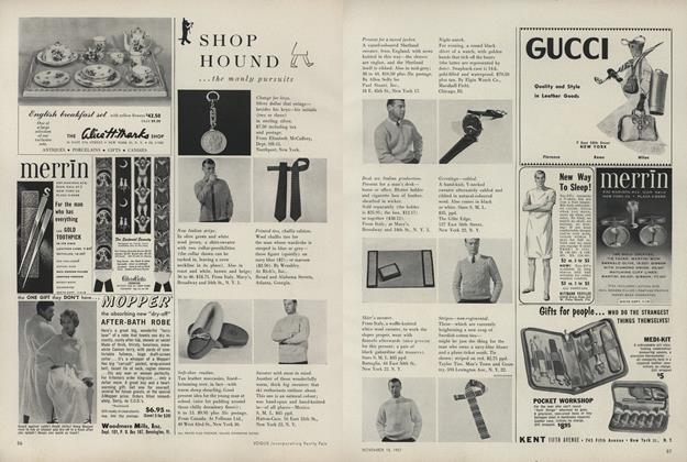 Shop Hound...The Manly Pursuits/...In the Present Tense
