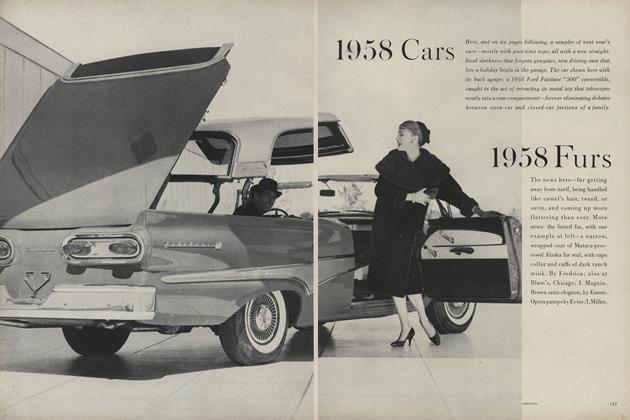 1958 Cars, 1958 Furs