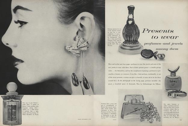 Presents To Wear: Perfumes - and Jewels Among Them
