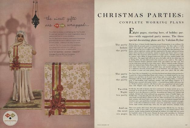 Christmas Parties: Complete Working Plans