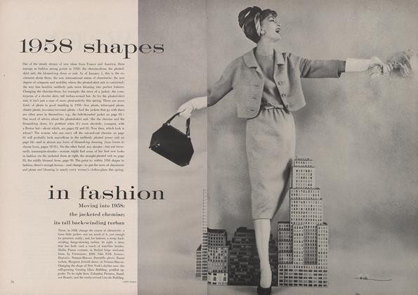 1958 Shapes in Fashion