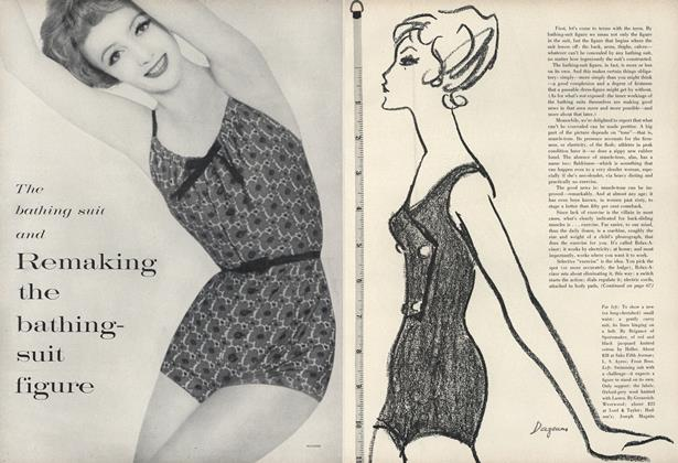 The Bathing Suit and Remaking the Bathing-Suit Figure