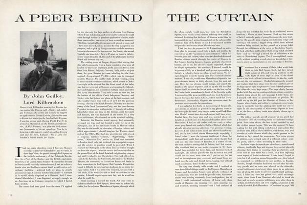 A Peer Behind the Curtain