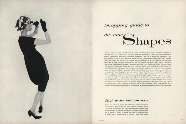 Shopping Guide to the New Shapes