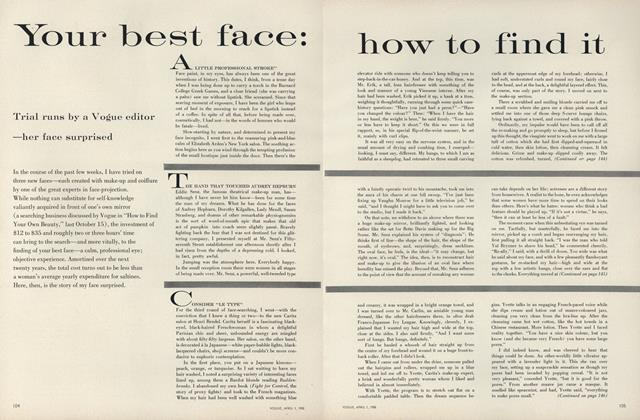 Your Best Face: How to Find It