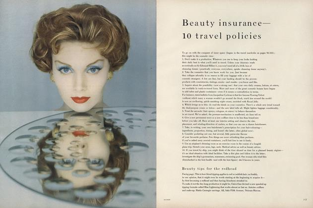 Beauty Insurance—10 Travel Policies
