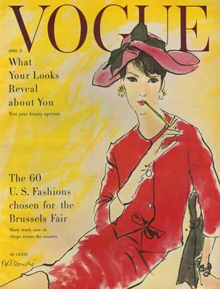 Cover for the April 15 1958 issue