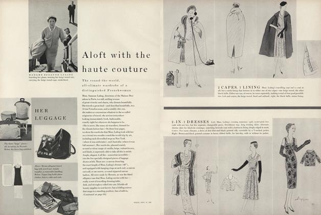 Aloft With the Haute Couture