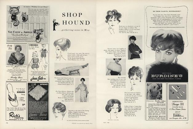 Shop Hound...Gathering News In May